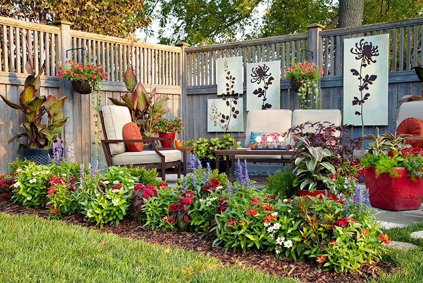 Best Ideas How to Manage the Garden at a Small Space