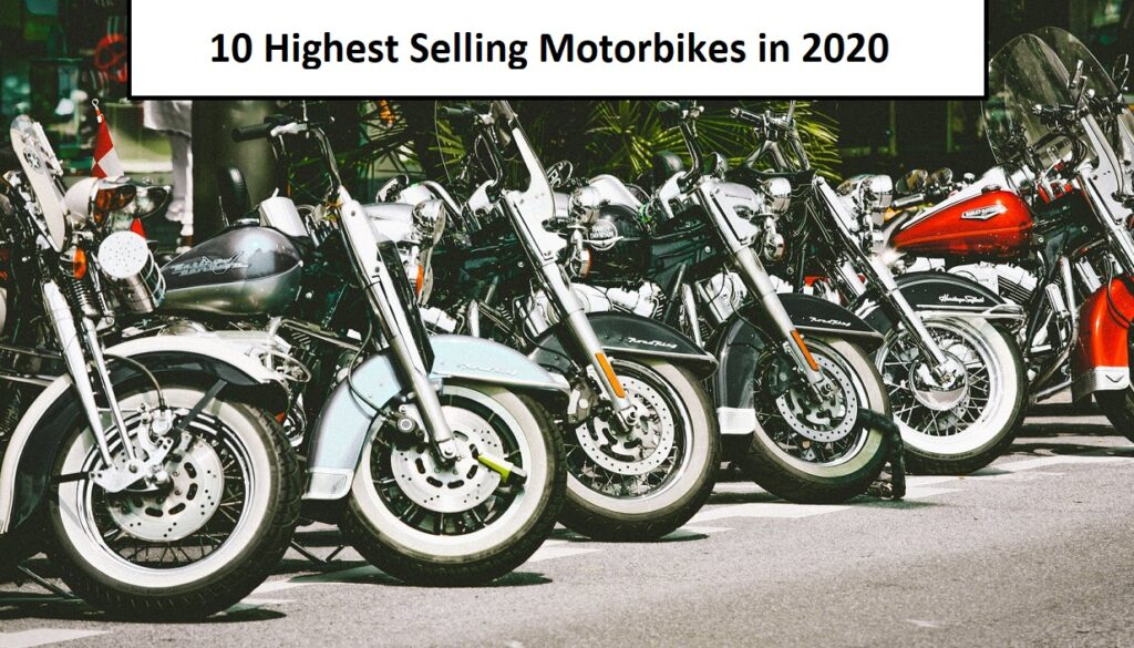 Highest Selling Motorbikes in 2020