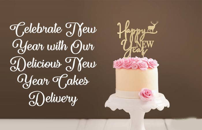 Celebrate New Year with Our Delicious New Year Cakes Delivery