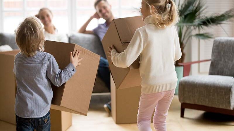 How to Make your Move Easier When Moving With Kids?