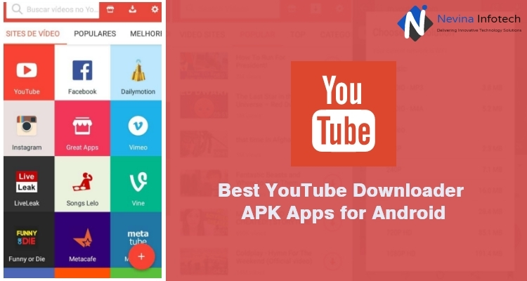 Best YouTube Downloader APK Apps for Android