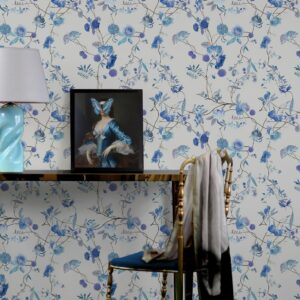 Stylish Floral Wallpaper Patterns for People Loving New Design Style