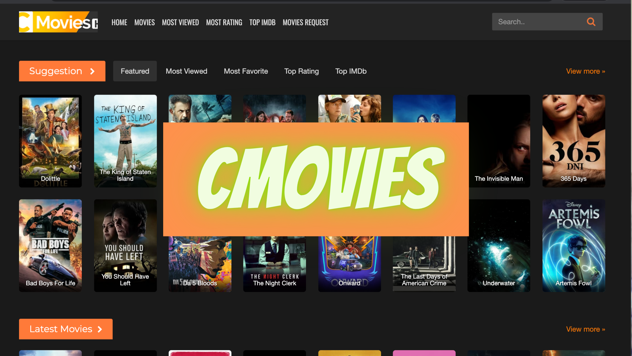 CMovies – Watch Free Online Movies and TV Shows