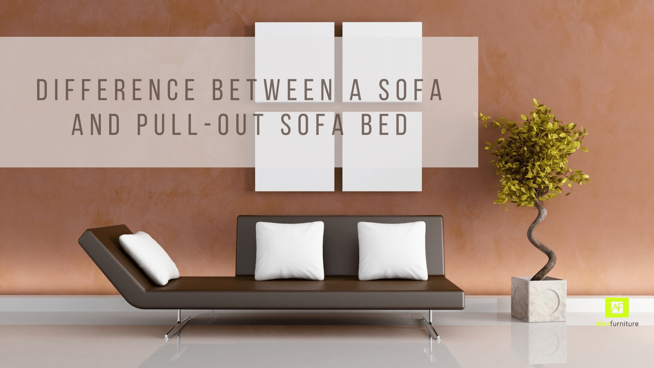 Difference Between a Sofa and Pull-Out Sofa Bed