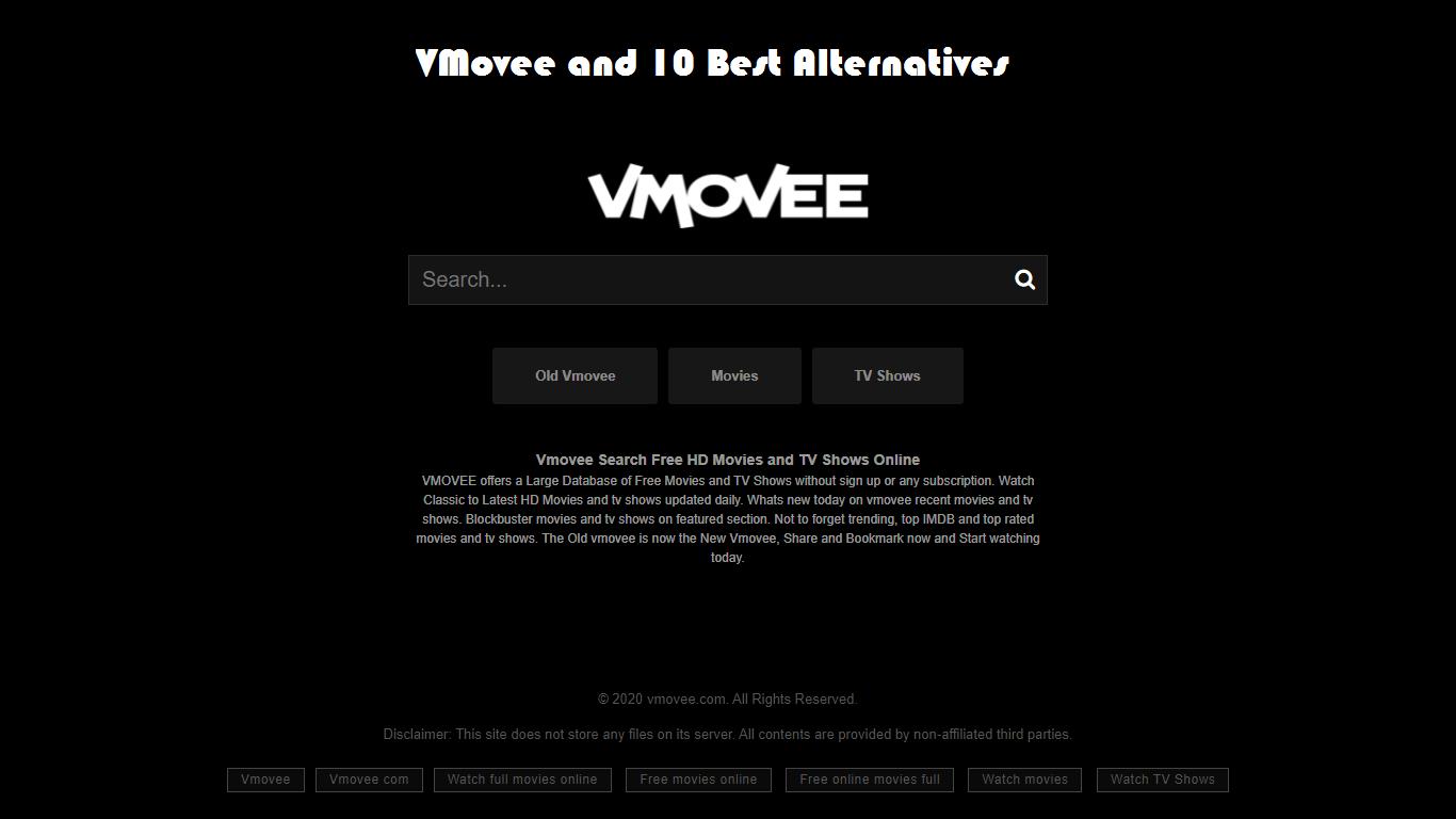 VMovee to Watch Free Movie & 10 Best Alternatives to It