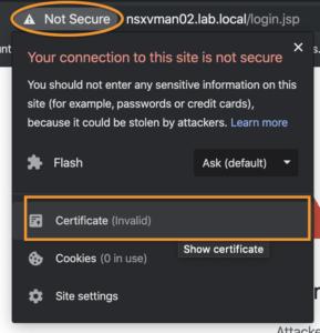 Net Error Revoked
