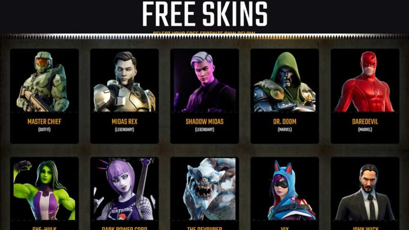 What is Fortgag: Is it legal and does it give you free fortnite skins?